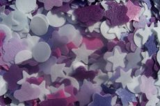 Blackberry Pomegranate Bath Tub Confetti