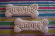 Rescue and Adopt Dog Biscuit Glycerin Soaps - BEST SELLER